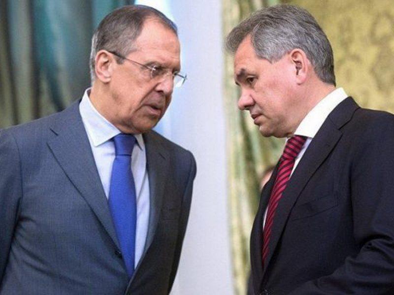 Лавров и Шойгу
