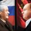 Борис Ельцин и Геннадий Зюганов