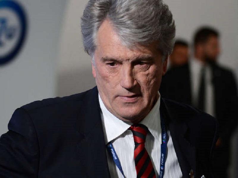 Ющенко не назвал Путина убийцей.