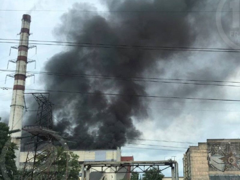 Пожар на Бурштынской ТЭС