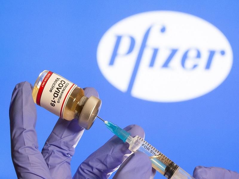 4 побочных эффекта после вакцинации препаратом Pfizer.
