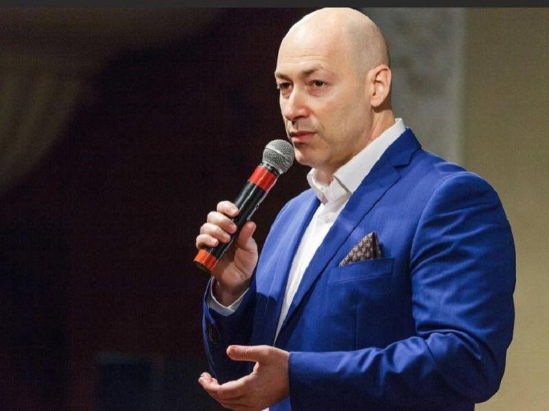 Реакция Дмитрия Гордона на оскорбления Лукашенко.