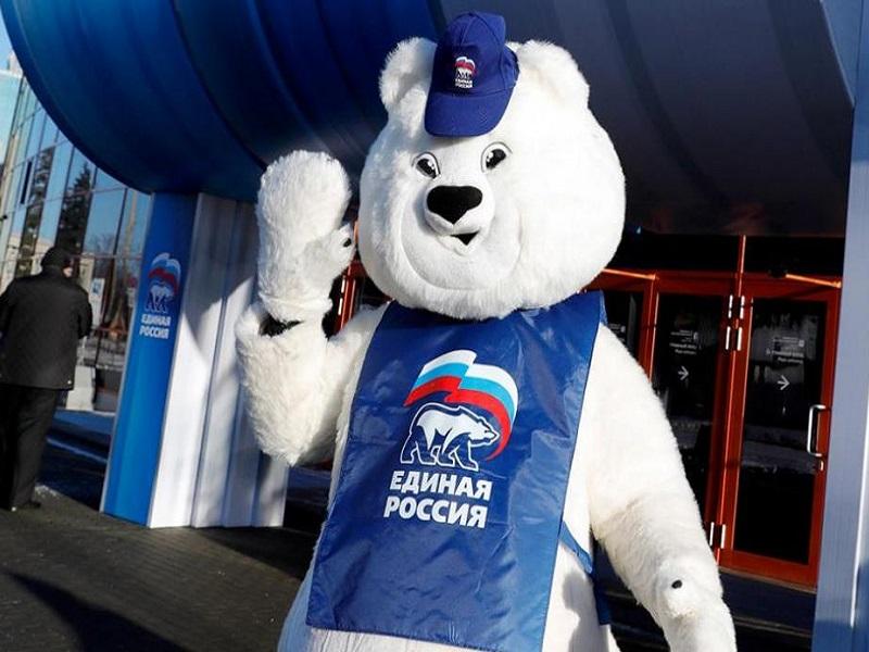 В ОРДЛО проходит активная агитация за «Единую Россию» на выборах в Госдуму.