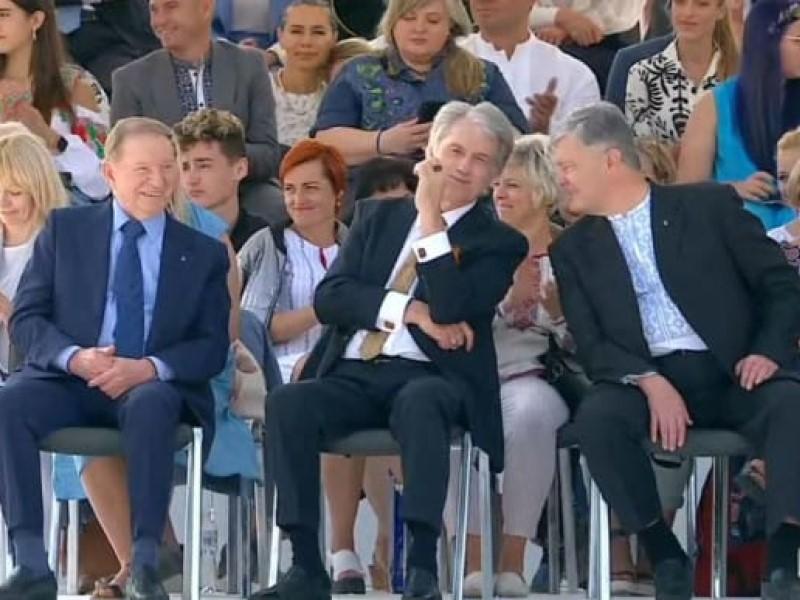 Кучма, Ющенко и Порошенко