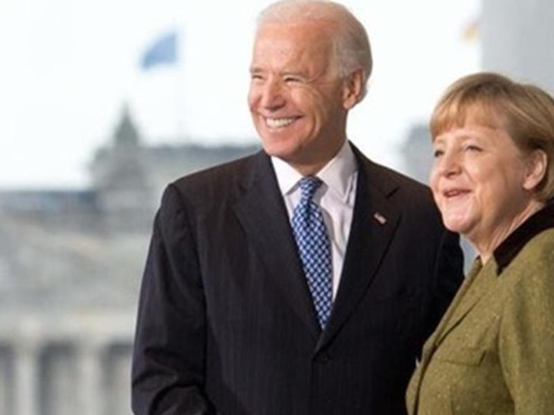 Встреча Зеленского с Байденом и Меркель