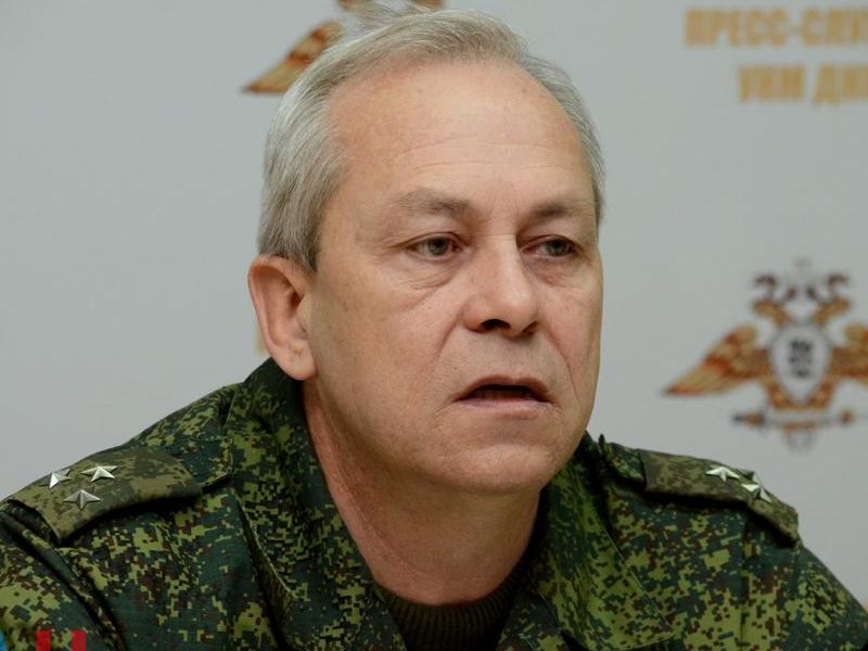 Басурин пригрозил уничтожать позиции ВСУ