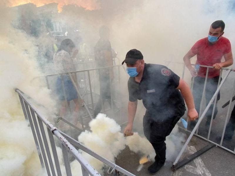 Акция Нацкорпуса в Киеве