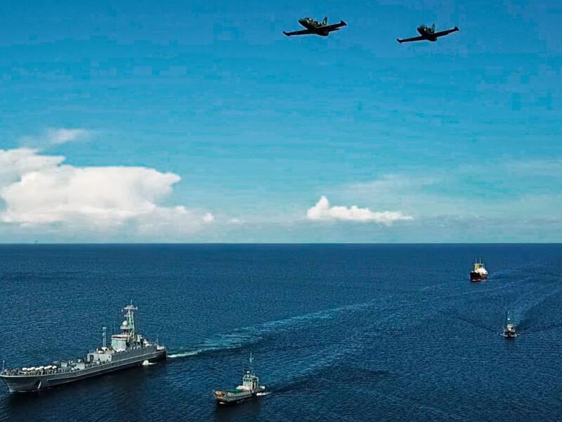 Военно-морской парад в Одессе 2021
