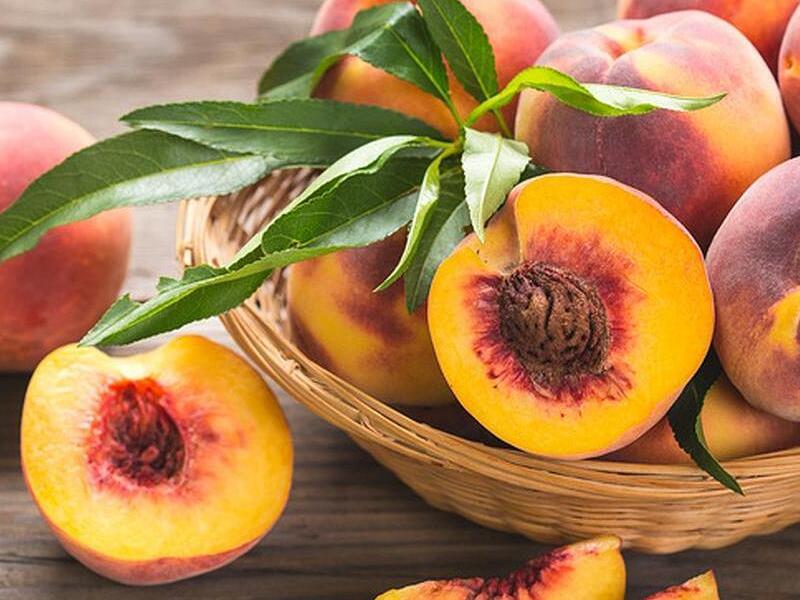Сорт и аромат персика - главный признак вкуса
