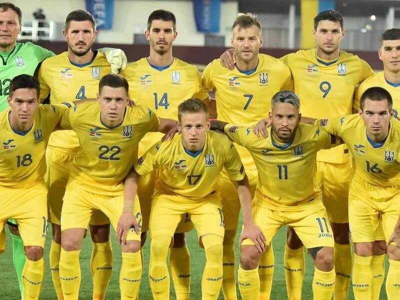 Сборная Украины по футболу.