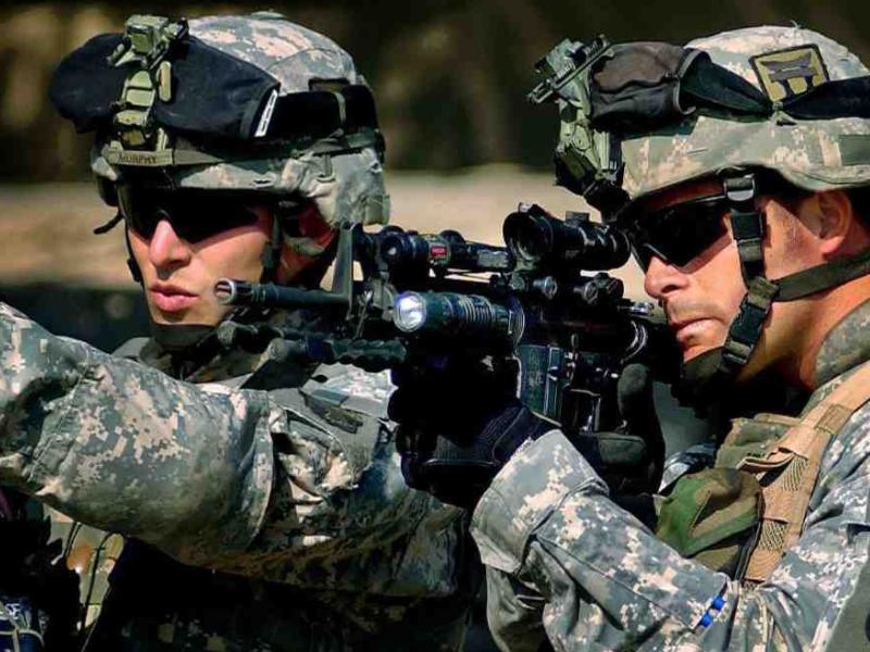 Войска США