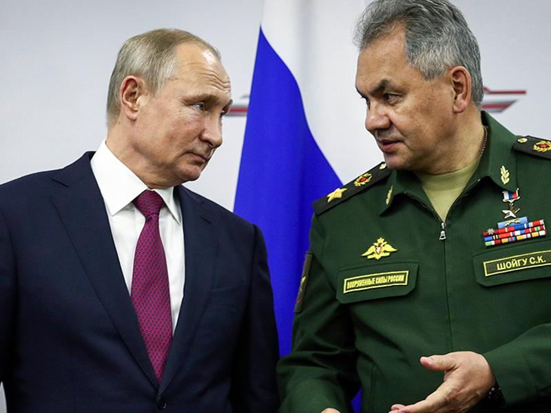 Путин и Шойгу могут отвечать в Гааге