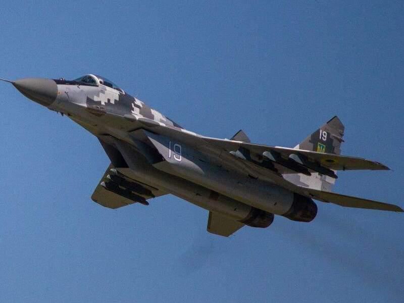 Истребитель ВСУ МиГ-29