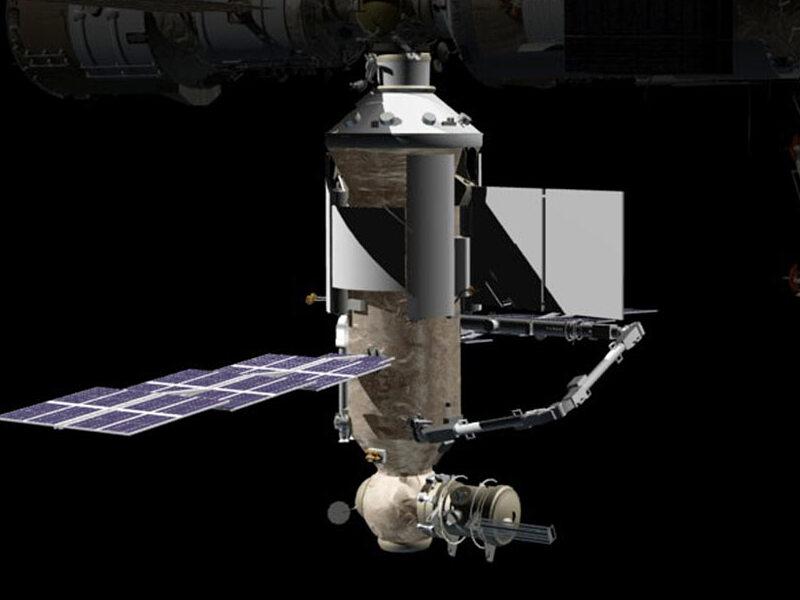 На российском модуле МКС обнаружены трещины