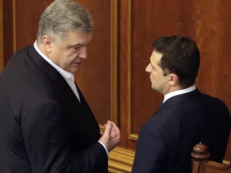 Зеленский оказался в ловушке Порошенко