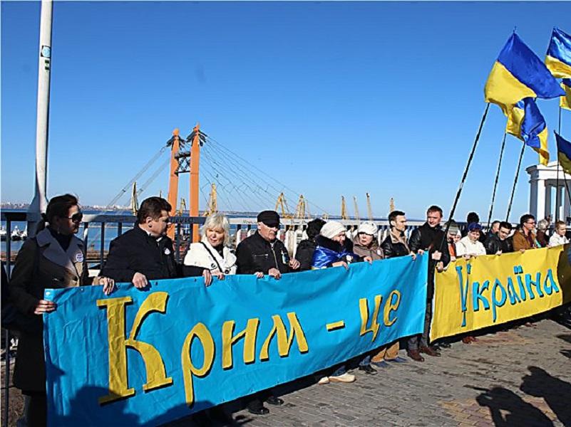 В КПРФ выступили за возвращение Крыма Украине.