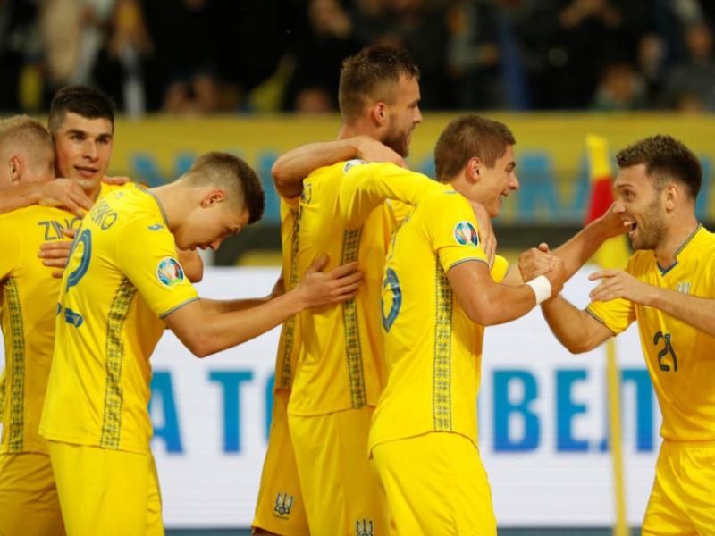Игроки национальной сборной Украины