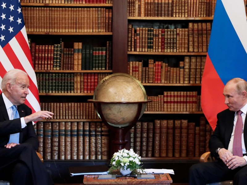 Президенты США и РФ