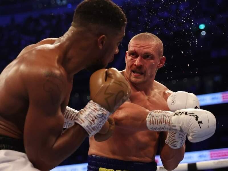 Британский боксер Джошуа