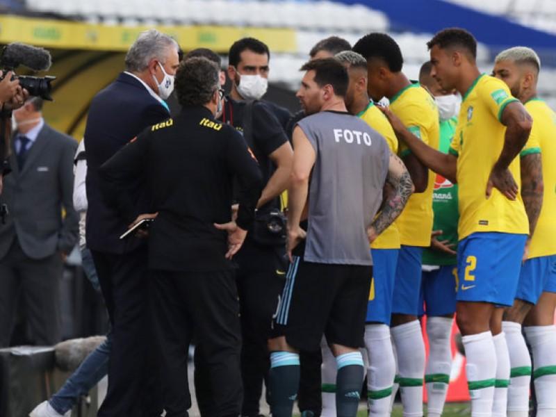 Депортация футболистов на матче Бразилия-Аргентина