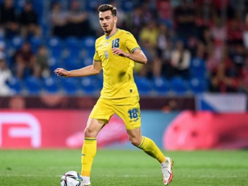 Игрок сборной Украины