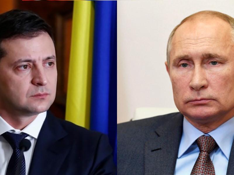 Президенты Украины и РФ