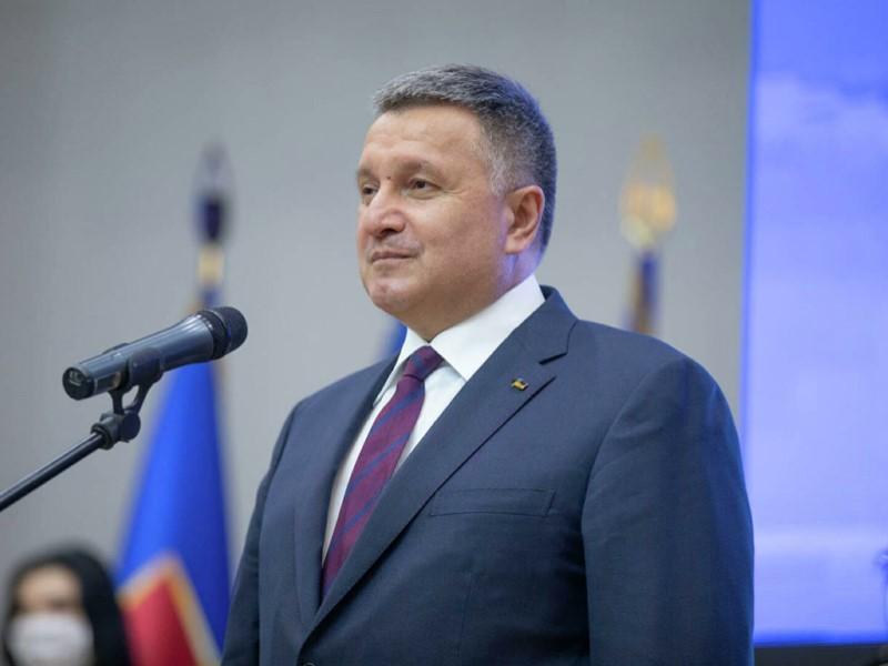 Экс-глава МВД Украины