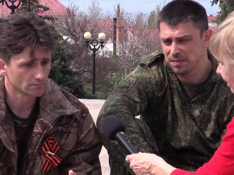 Участник оккупации Крыма Франчетти
