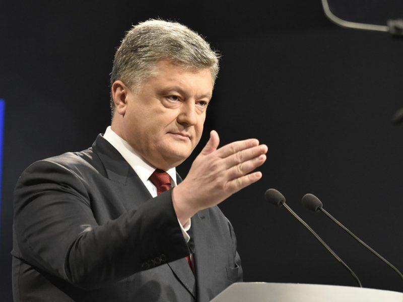 """пятый президент, лидер """"Европейской Солидарности"""""""