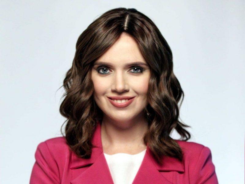 известная украинская журналистка и телеведущая