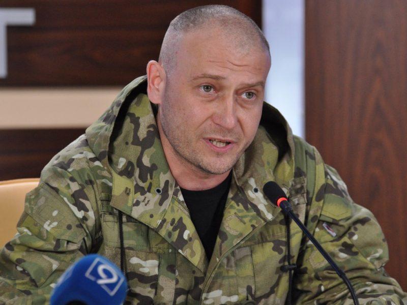 экс-депутат, командующий Украинской добровольческой армии