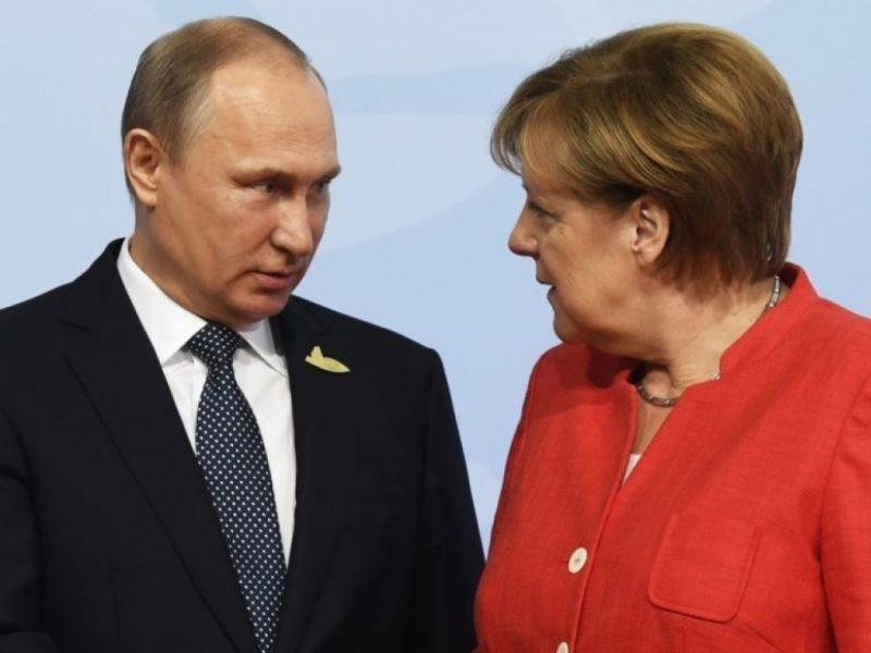 президент РФ и канцлер Германии