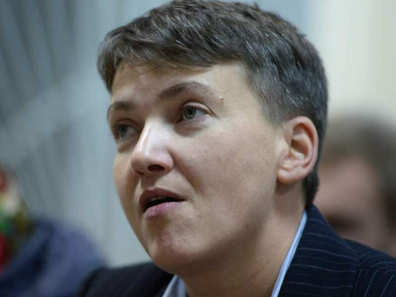 Экс-депутат Надежда Савченко