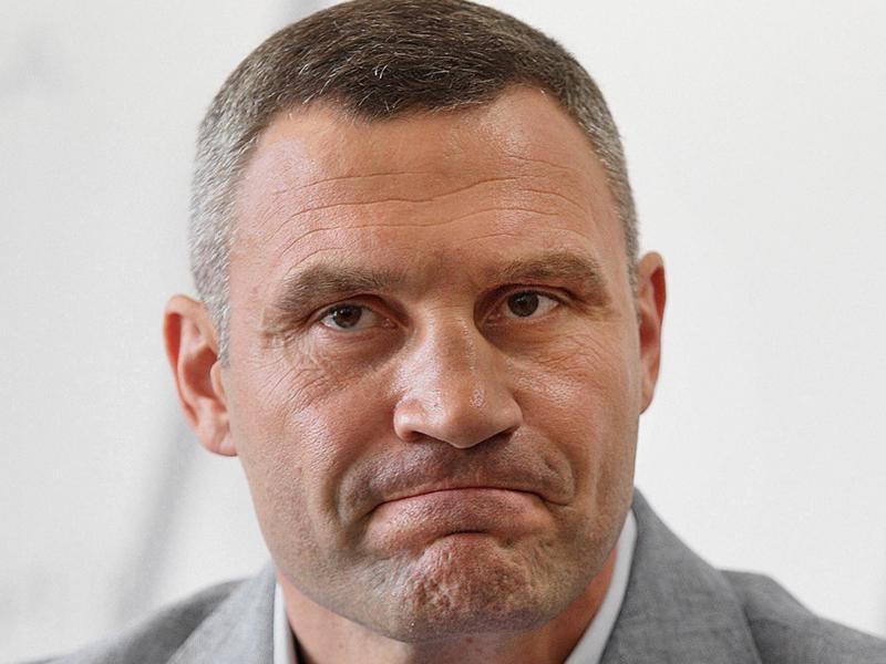 Украинский чемпион Виталий Кличко