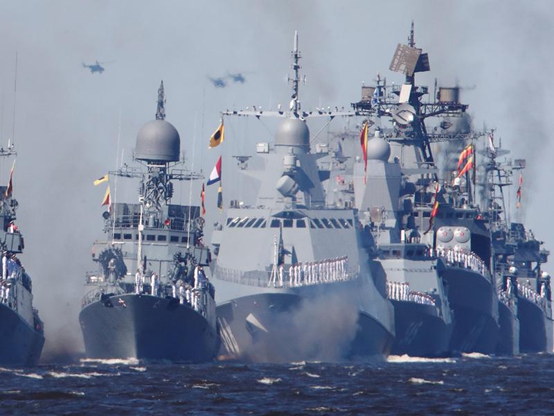 Военные корабли РФ