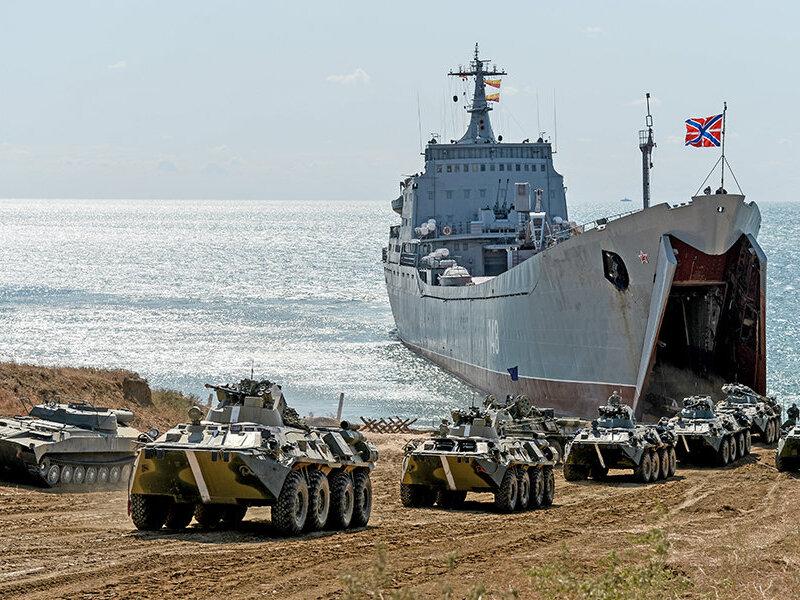 Войска РФ в Крыму