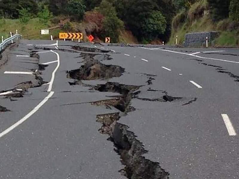 Землетрясения в Украине
