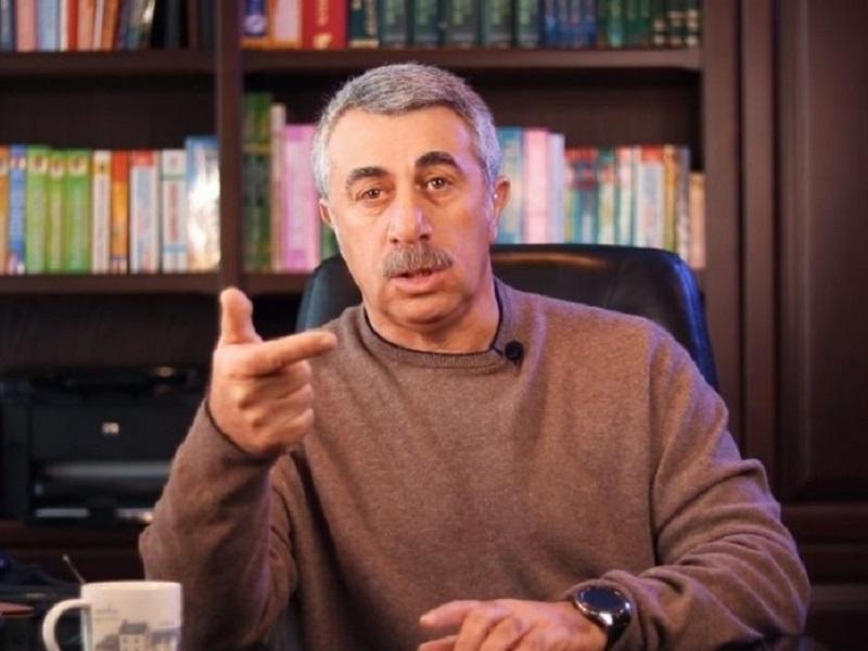 Доктор Комаровский обратился с гневным призывом к украинским властям.