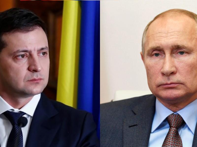 Украинский и российский президенты