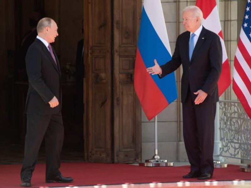 Президенты РФ и США
