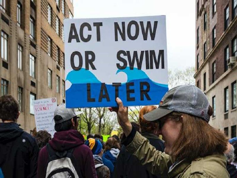 Глобальное потепление приведет к затоплению огромной части земной поверхности.