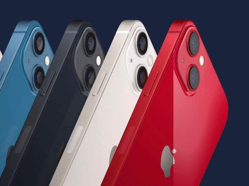 Выпуск iPhone 13