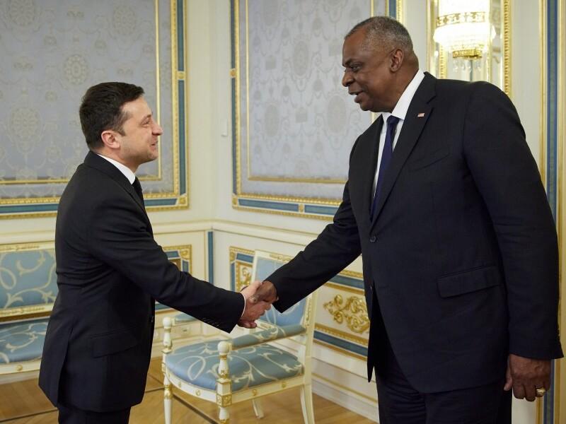 Президент Украины и глава Пентагона