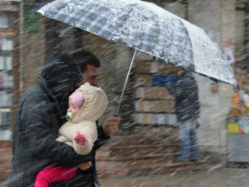 Прогноз погоды на 11 января: в части Украины – мокрый снег с дождем
