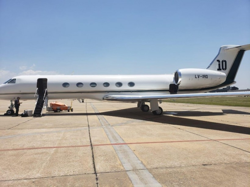 Спальня, две ванны и две кухни: Месси обзавелся самолетом за 15 миллионов долларов (ФОТО)