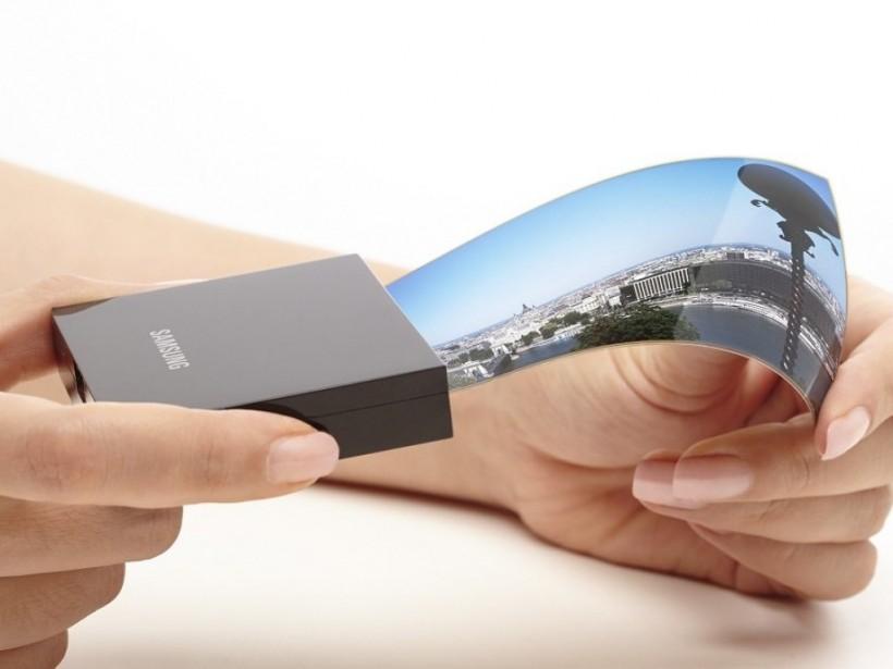 До размеров планшета: УSamsungпоявится смартфон с растягивающим дисплеем
