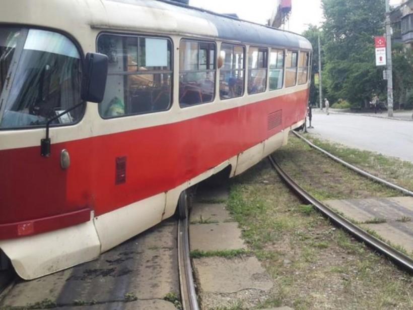 В Киеве трамваи на три ночи изменят маршрут