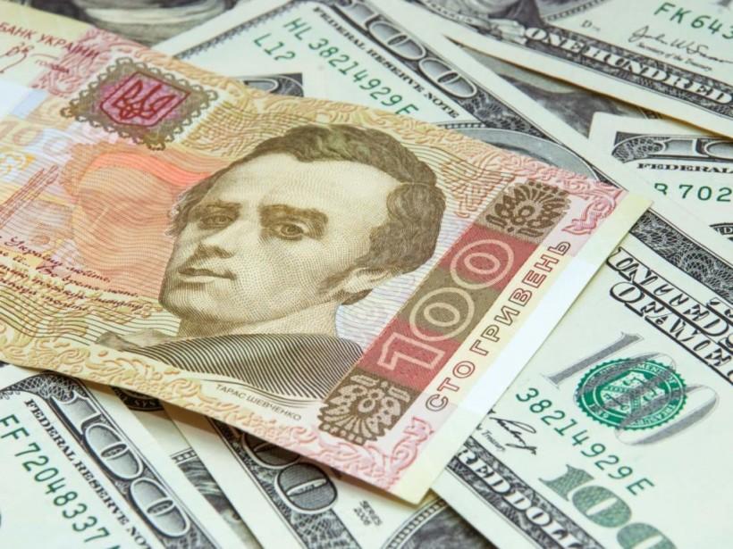 НБУ установил официальный курс на уровне 27,71 гривны за доллар
