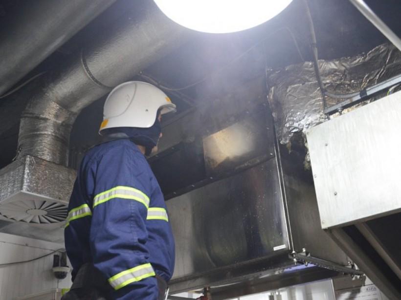 В Николаеве сгорел ресторан «Мафия» (ФОТО)