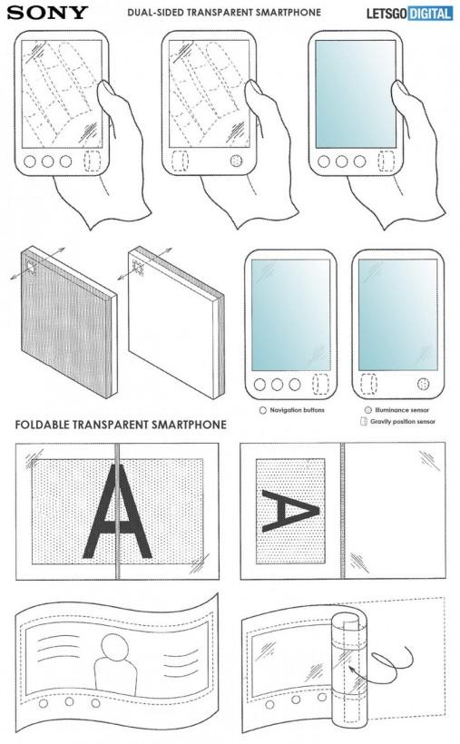 В сеть попали снимки прозрачного смартфона от Sony (ФОТО)